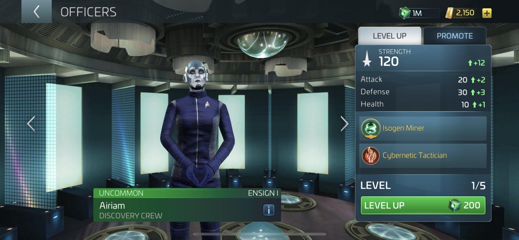 Star Trek Fleet Command Officer Airiam