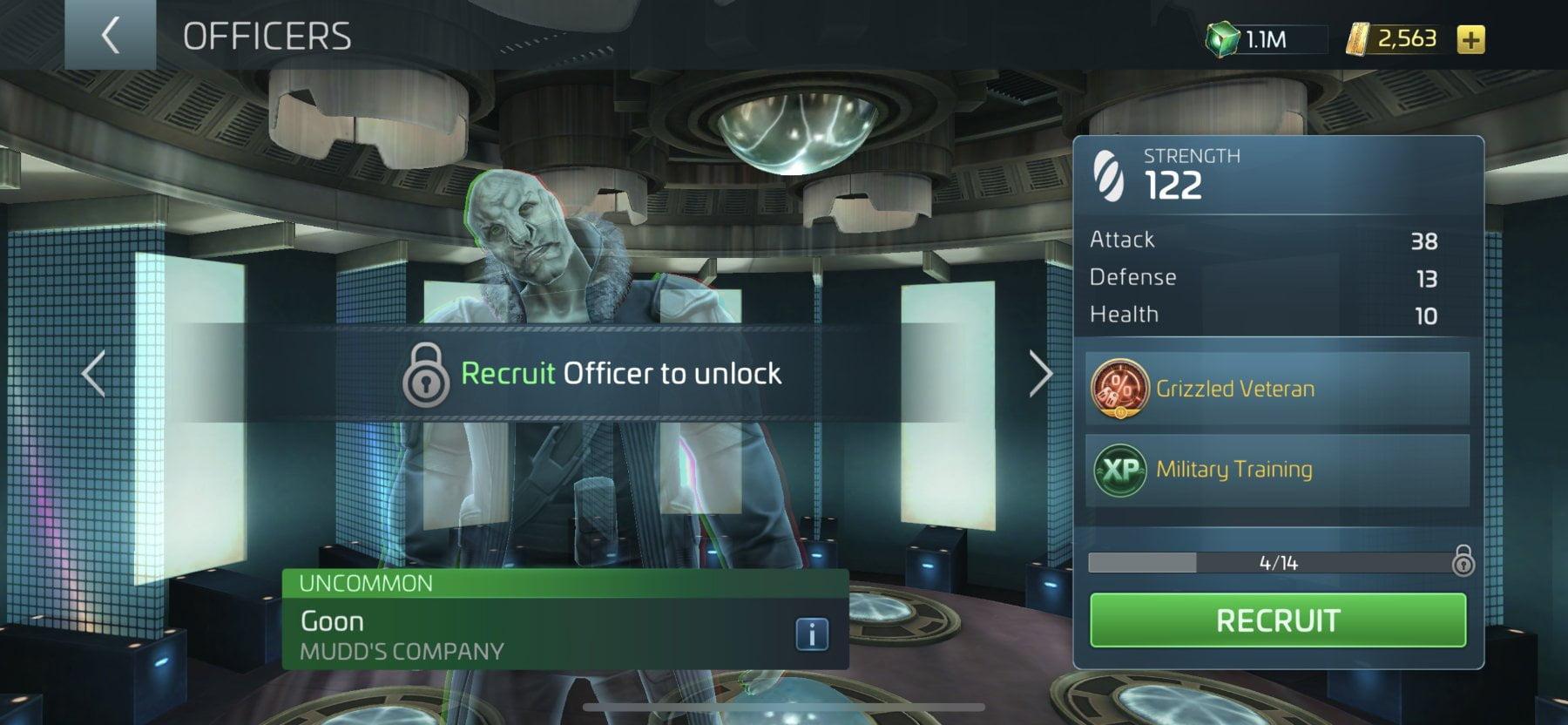 Star Trek Fleet Command Officer Goon