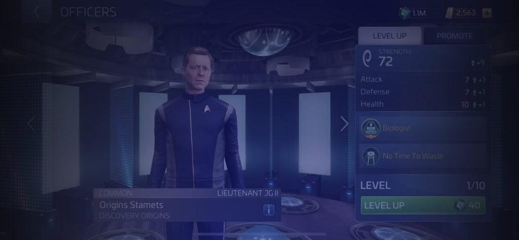 Star Trek Fleet Command Officer Origins Stamets