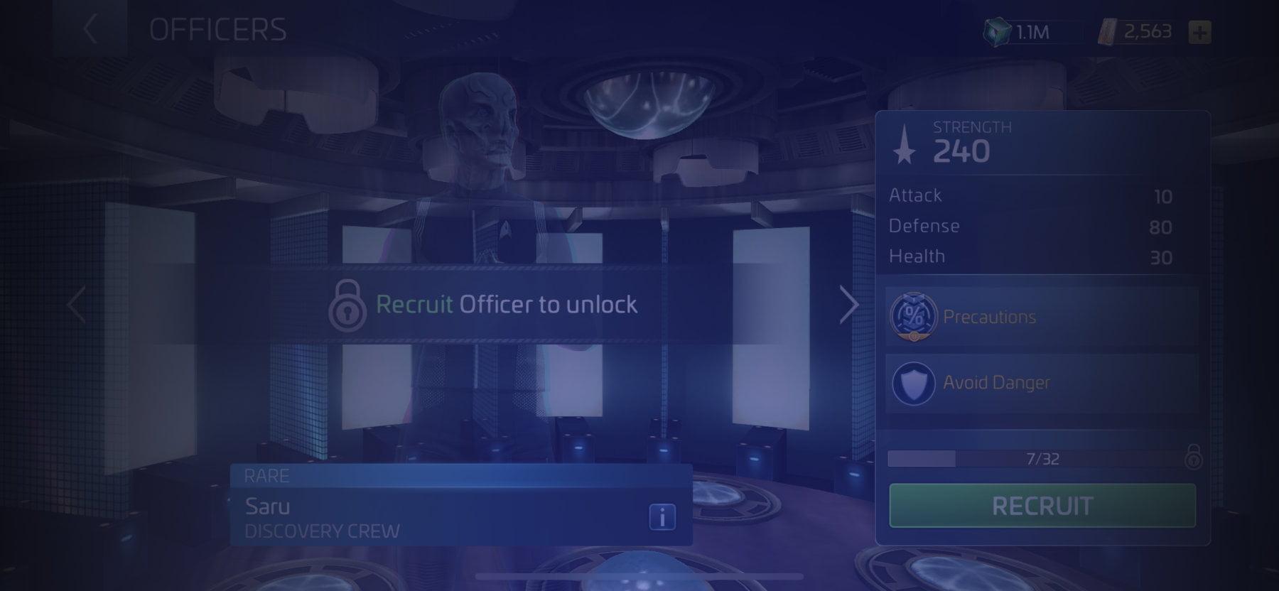 Officer Saru