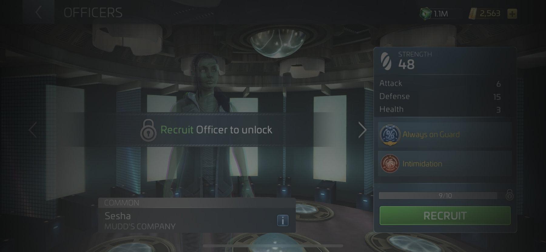 Officer Sesha