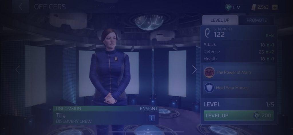 Star Trek Fleet Command Officer Tilly