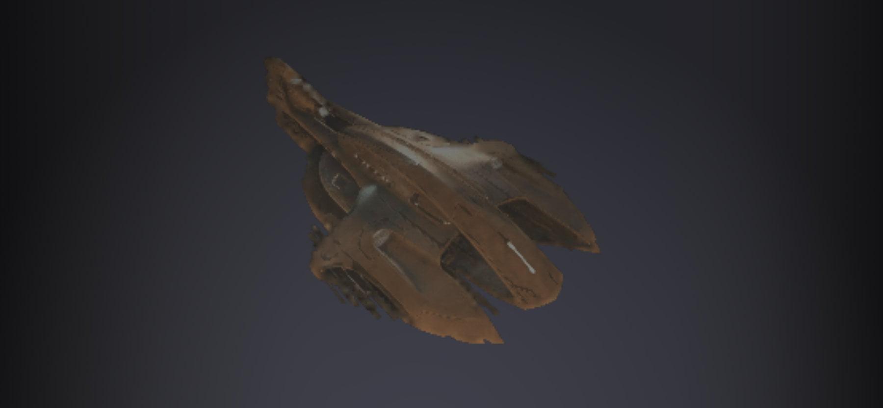 Phindra Interceptor Ship