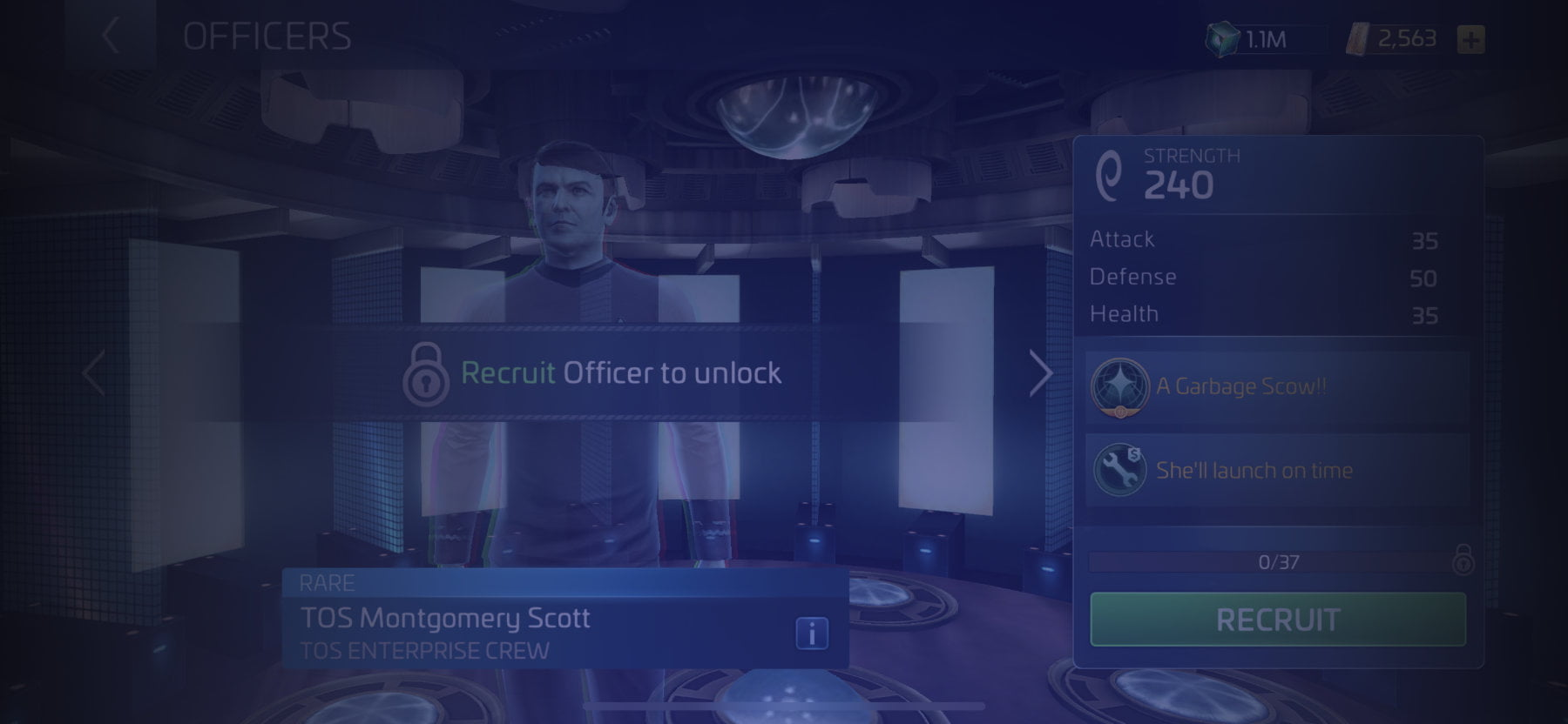 Officer TOS Montgomery Scott