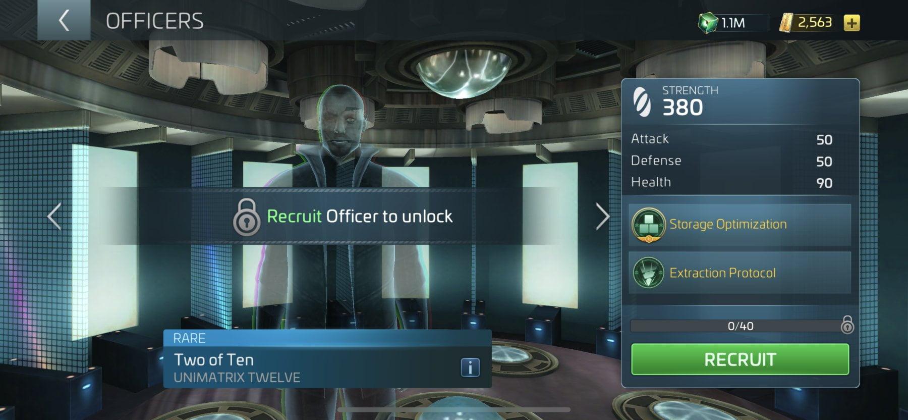 Star Trek Fleet Command Officer Two of Ten