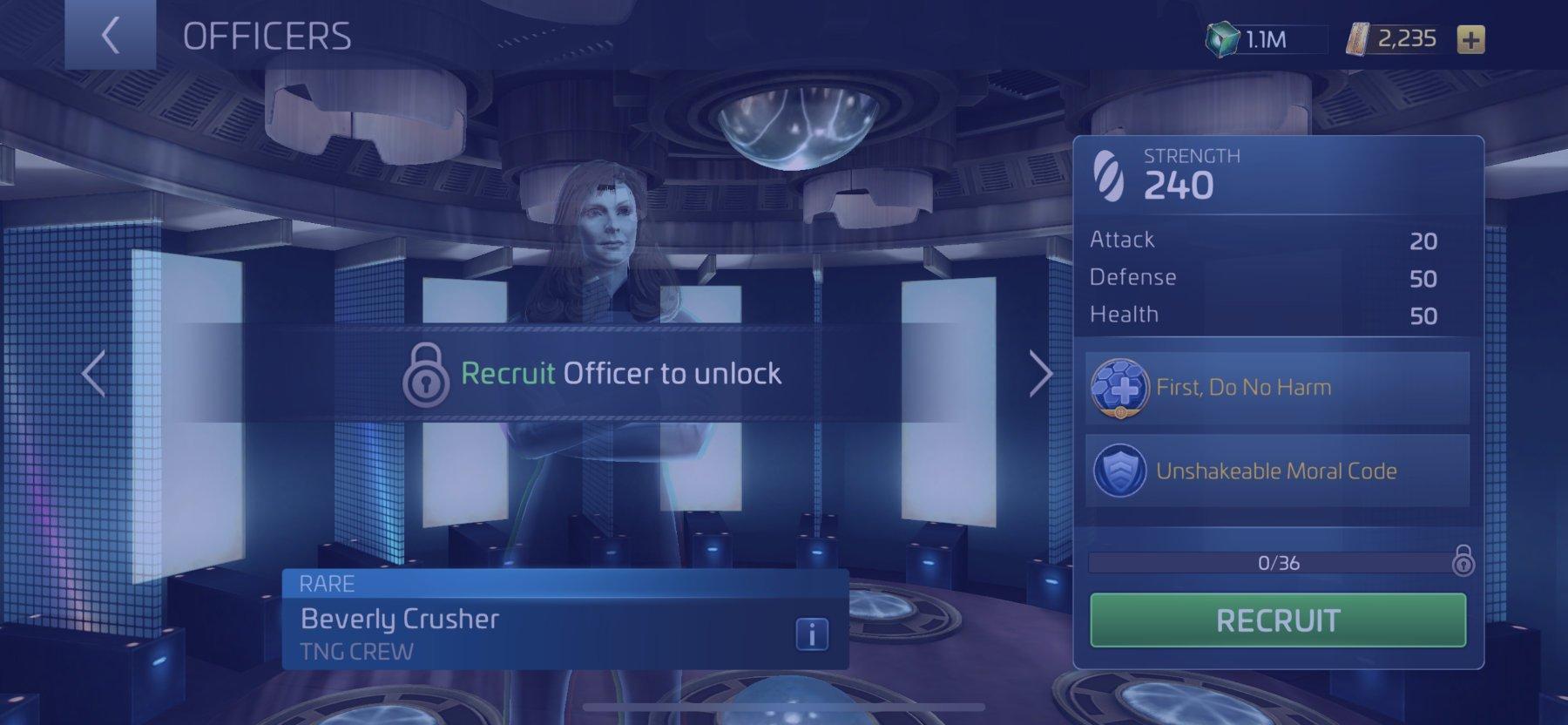 Officer Beverly Crusher
