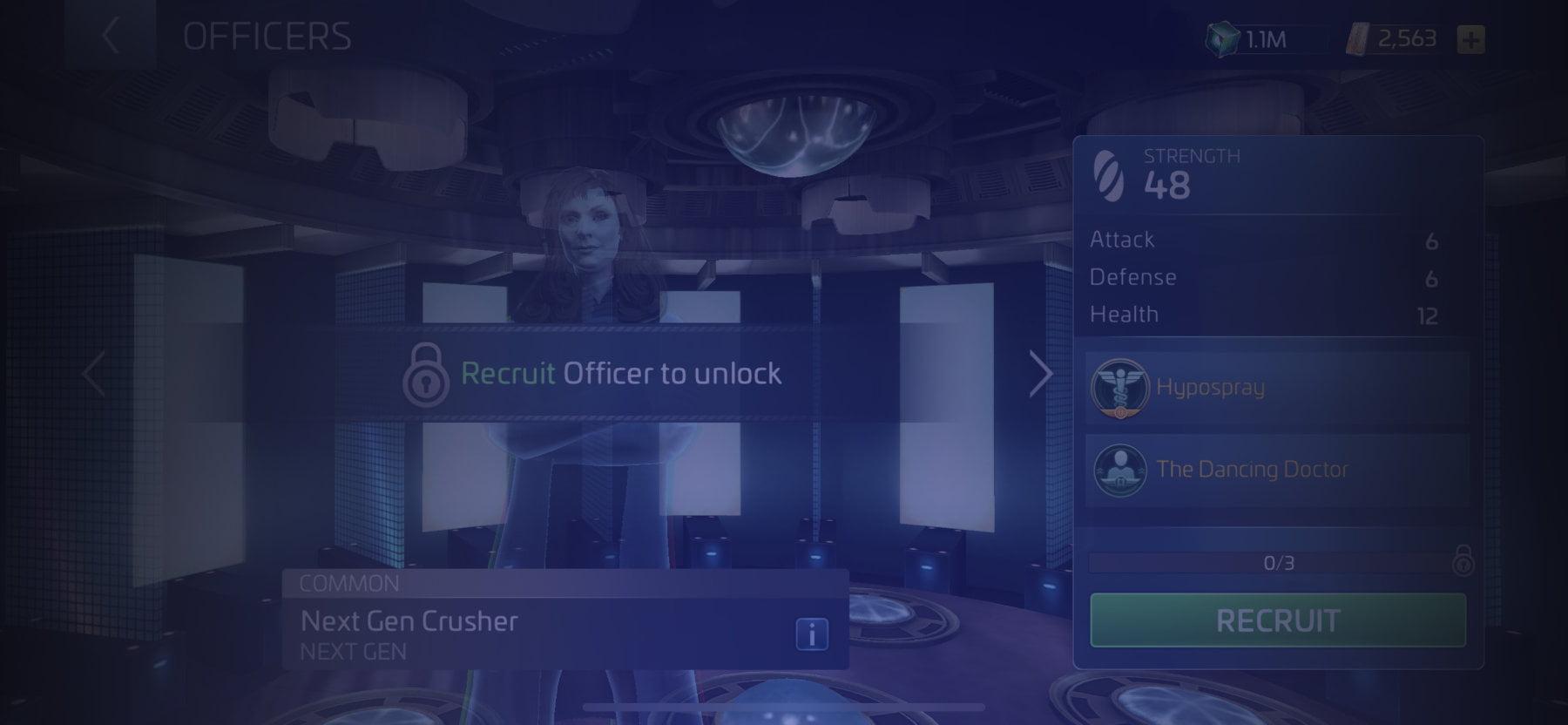 Officer Next Gen Crusher