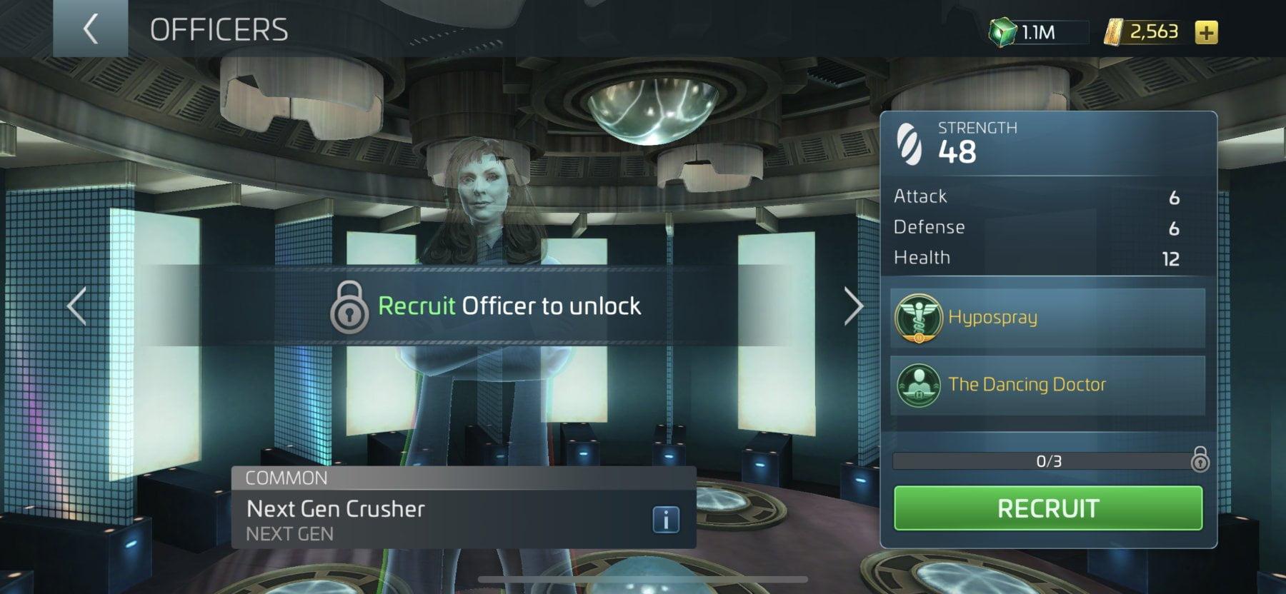 Star Trek Fleet Command Officer Next Gen Crusher