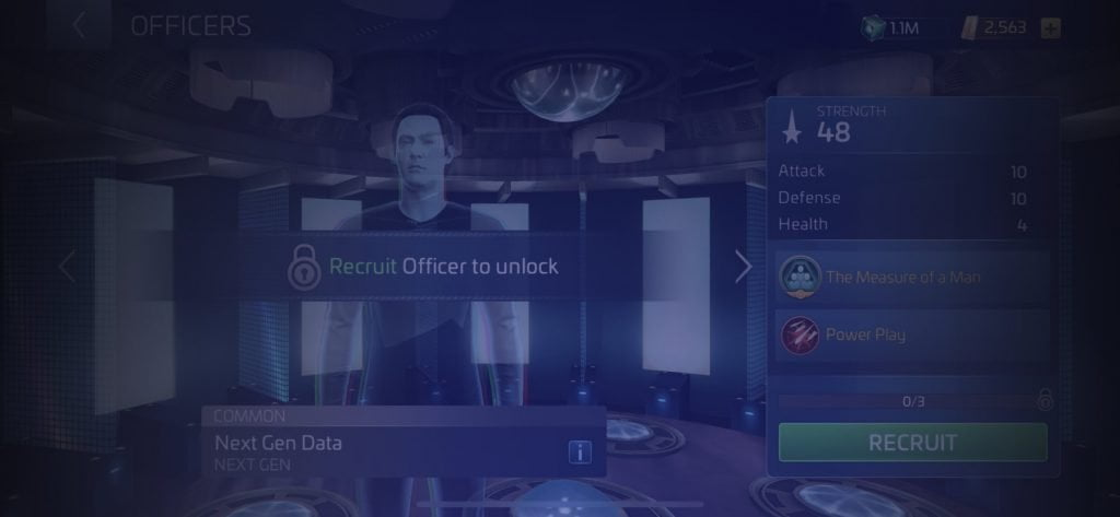 Star Trek Fleet Command Officer Next Gen Data