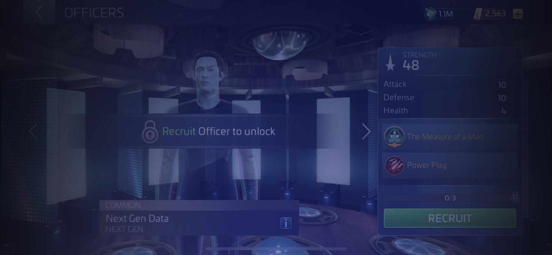 Officer Next Gen Data