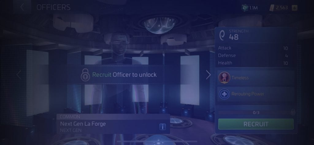 Star Trek Fleet Command Officer Next Gen La Forge