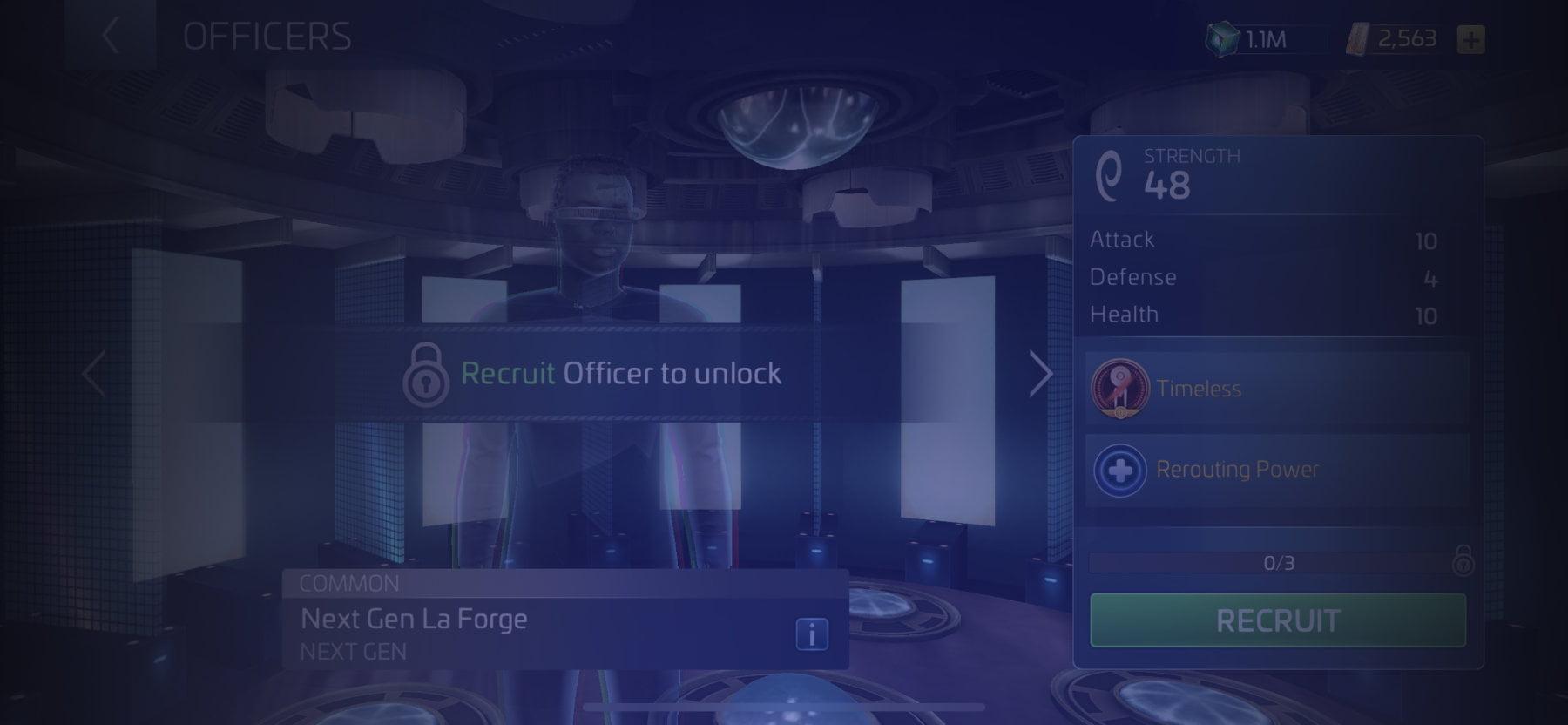 Officer Next Gen La Forge