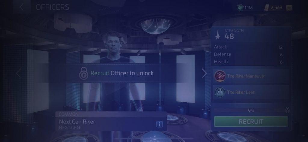 Star Trek Fleet Command Officer Next Gen Riker
