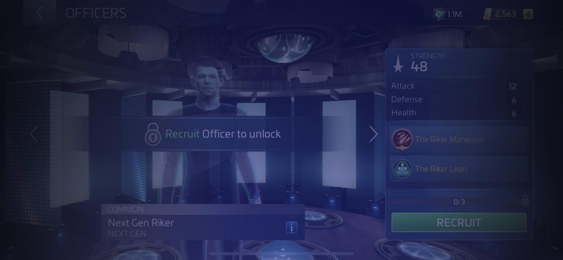 Officer Next Gen Riker