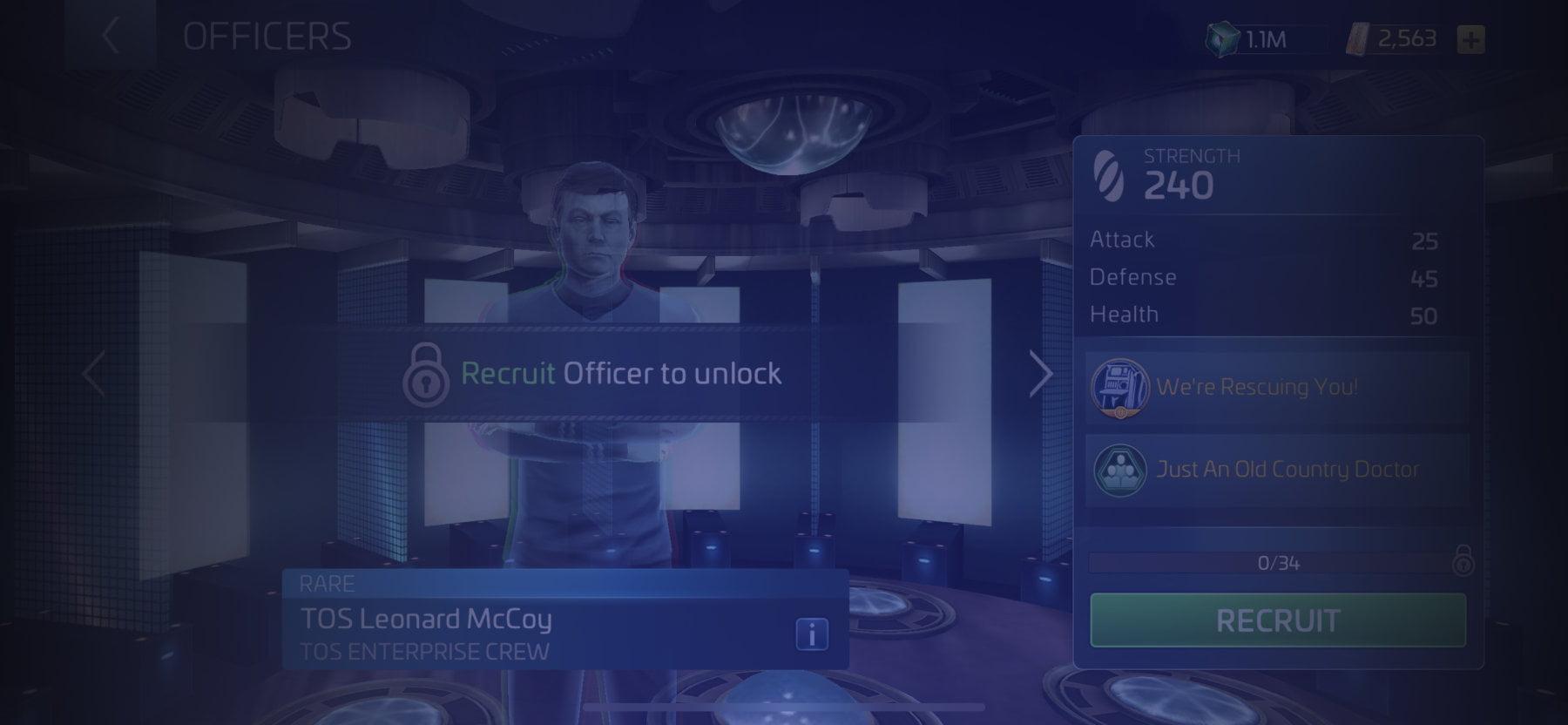 Officer TOS Leonard McCoy