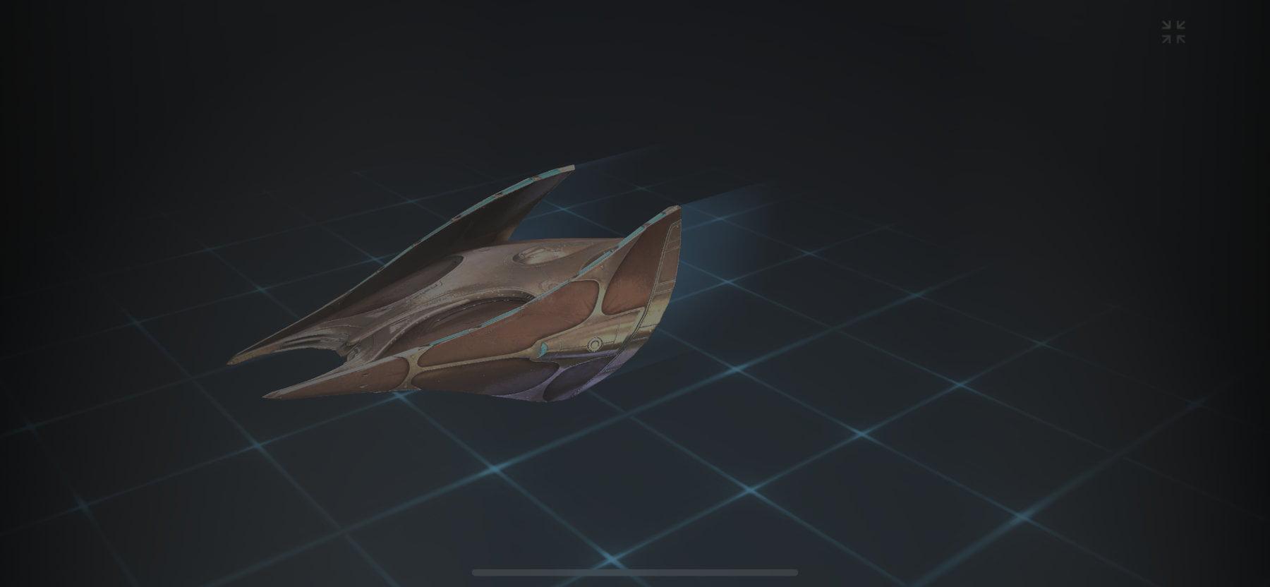 Vahklas Explorer Ship