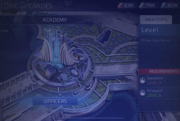 Star Trek Fleet Command Academy Header