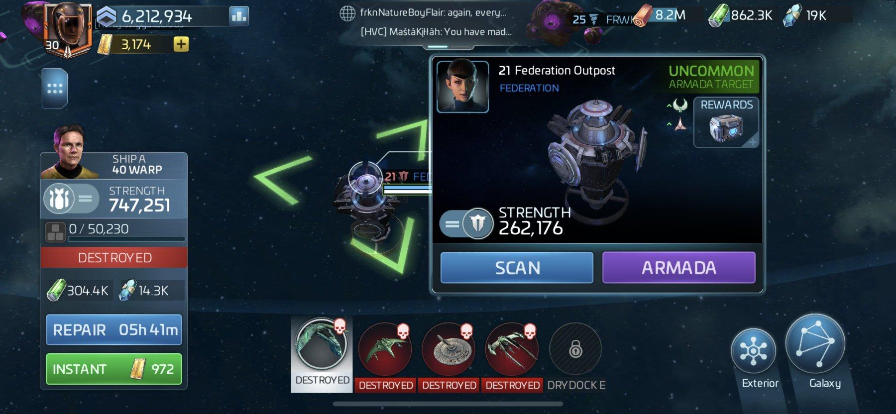 Star Trek Fleet Command Federation Armada Locations